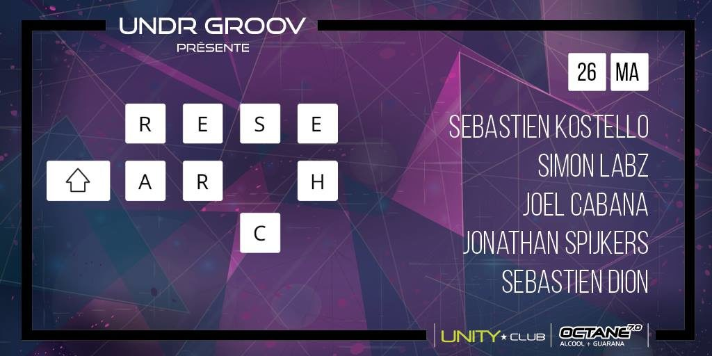 Jonathan Spijkers @ Unity Club Research 26 May 2017